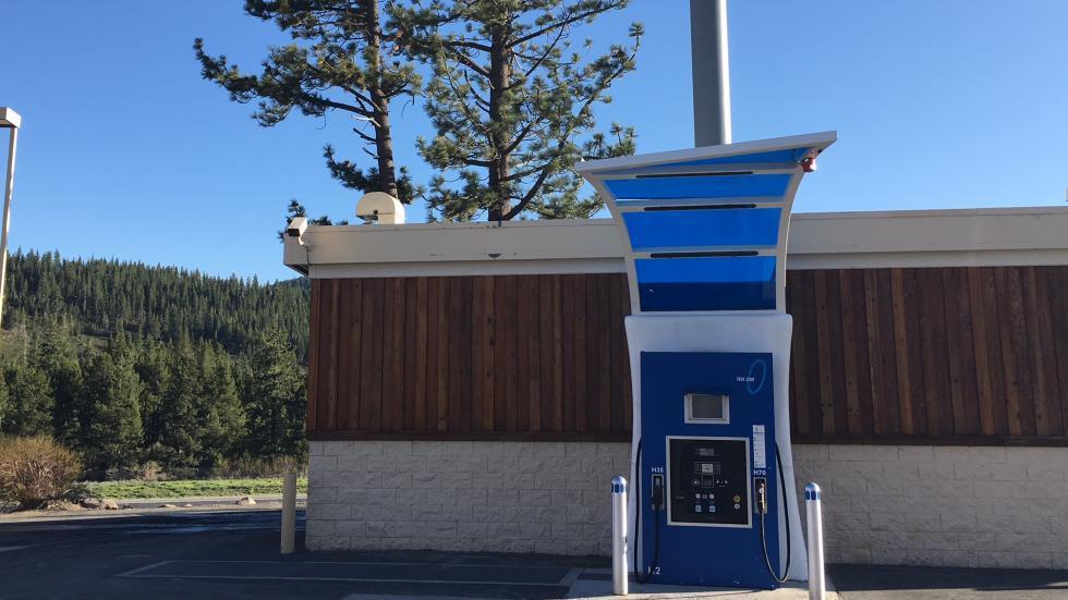 Hydrogen station, Truckee California